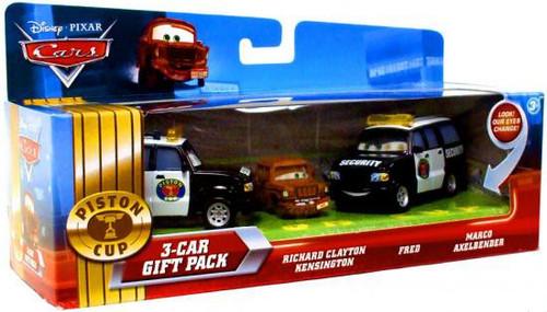Disney / Pixar Cars Multi-Packs Piston Cup 3-Car Gift Pack Diecast Car Set [Security]