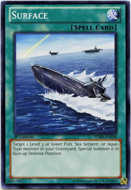YuGiOh Structure Deck: Realm of the Sea Emperor Common Surface SDRE-EN028