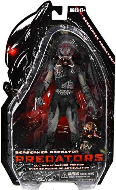 NECA Predators Series 2 Berserker Predator Action Figure [Unmasked]