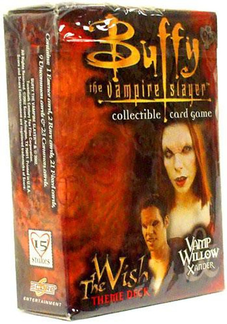 Buffy The Vampire Slayer Collectible Card Game The Wish Vamp Willow & Xander Theme Deck