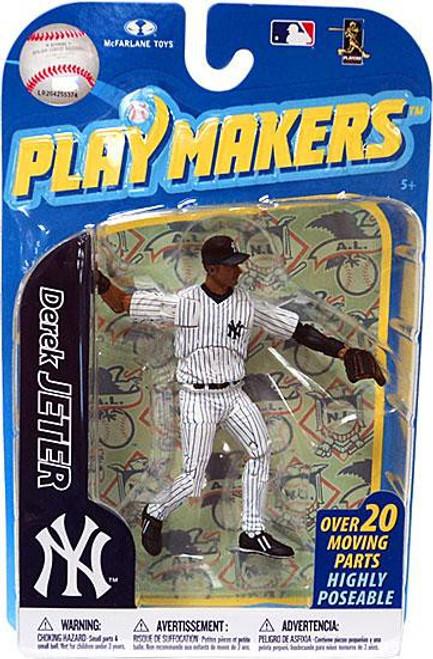 McFarlane Toys MLB New York Yankees Playmakers Series 2 Derek Jeter Action Figure [Fielding]