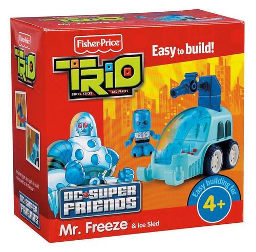 Fisher Price Trio DC Super Friends Mr. Freeze Playset