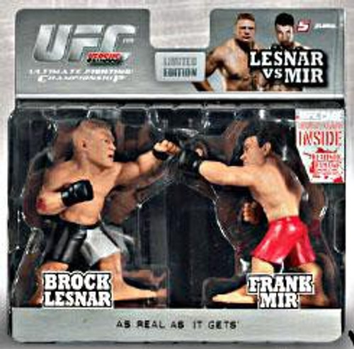 UFC Ultimate Collector Versus Series 1 Brock Lesnar Vs. Frank Mir Action Figure 2-Pack [Limited Edition]