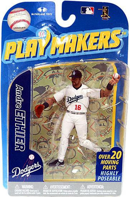 McFarlane Toys MLB Los Angeles Dodgers Playmakers Series 2 Andre Ethier Action Figure [Fielding]