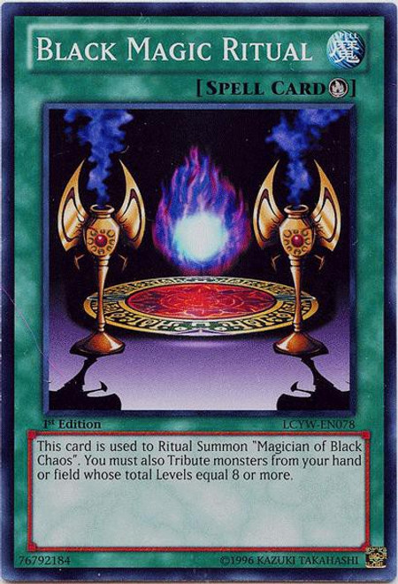 YuGiOh Legendary Collection 3 Common Black Magic Ritual LCYW-EN078