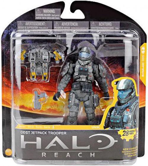 McFarlane Toys Halo Reach Series 3 ODST Jetpack Trooper Action Figure