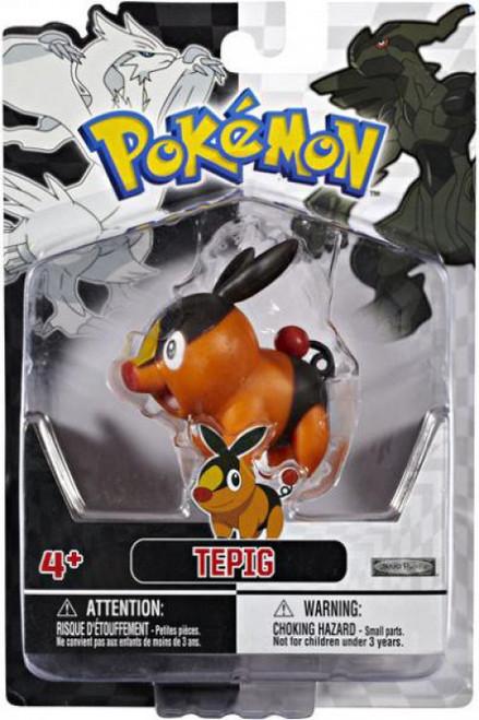 Pokemon Black & White Series 1 Basic Tepig Figure