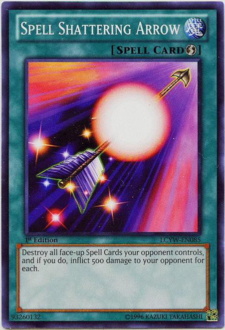 YuGiOh Legendary Collection 3 Common Spell Shattering Arrow LCYW-EN085