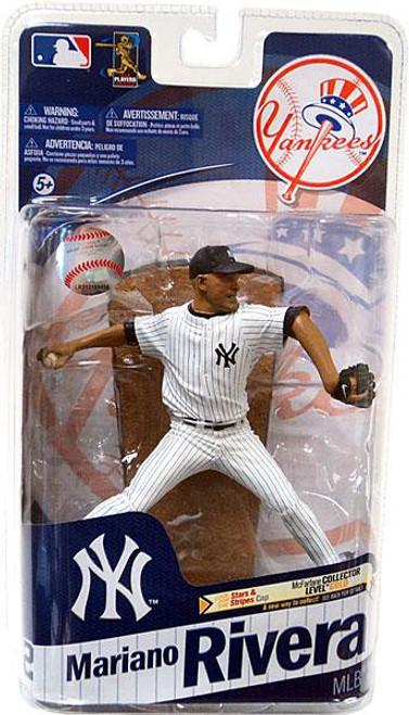 McFarlane Toys MLB New York Yankees Sports Picks Series 28 Mariano Rivera Action Figure [Blue Hat]
