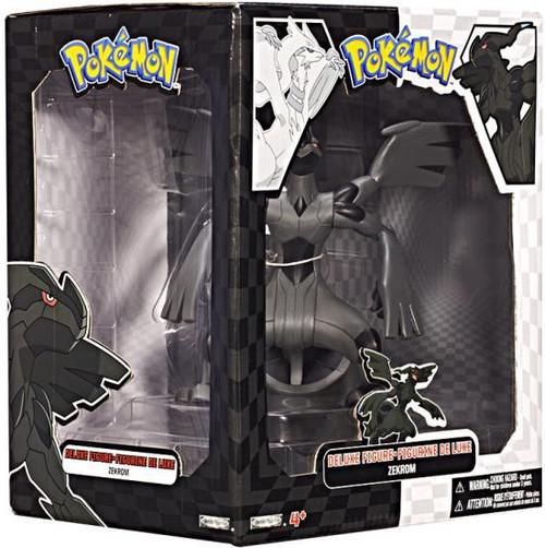 Pokemon Black & White Zekrom Action Figure [All Black]