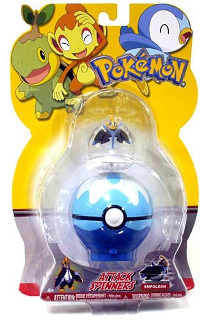 Pokemon Attack Spinners Empoleon Figure