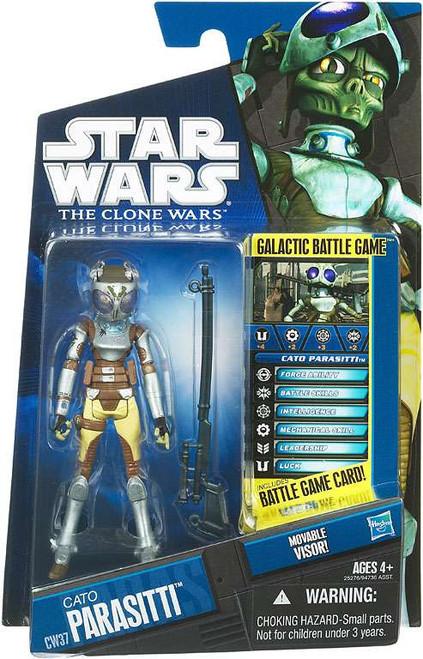 Star Wars The Clone Wars 2010 Cato Parasiti Action Figure CW37