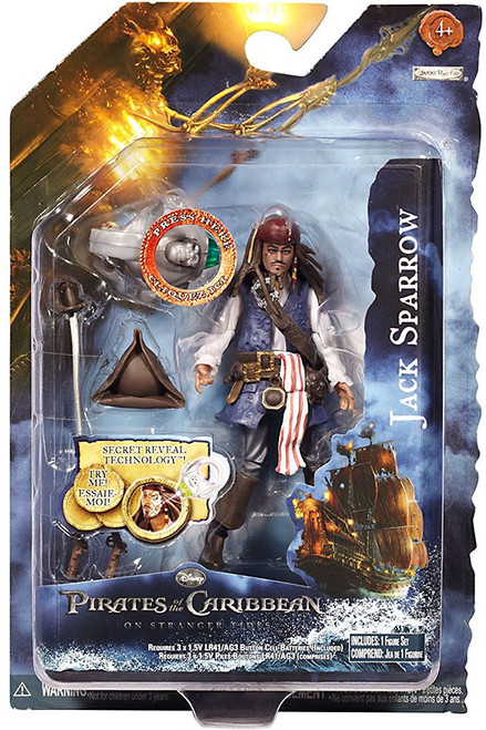 Pirates of the Caribbean On Stranger Tides Jack Sparrow Action Figure