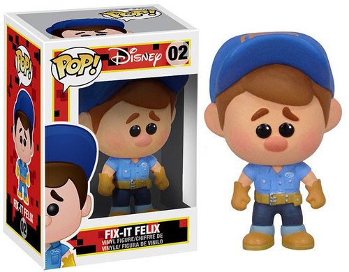 Funko Wreck-It Ralph POP! Disney Fix-it Felix Vinyl Figure #02