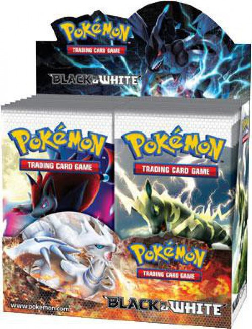 Pokemon Trading Card Game Black & White Base Set Booster Box [36 Packs]