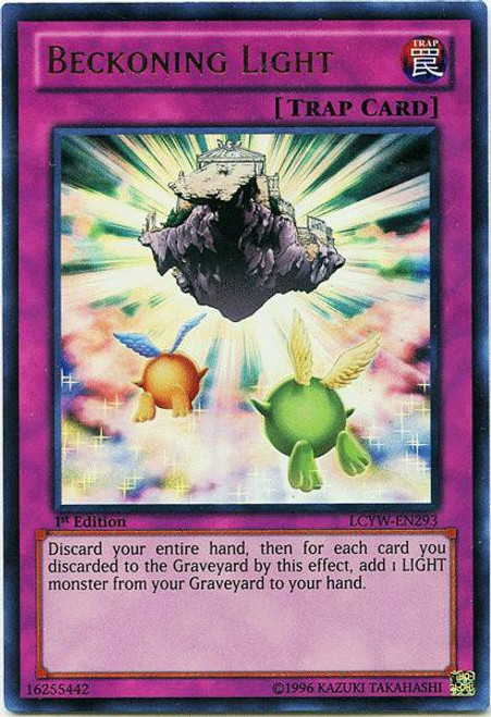 YuGiOh Legendary Collection 3 Ultra Rare Beckoning Light LCYW-EN293