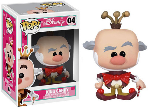 Funko Wreck-It Ralph POP! Disney King Candy Vinyl Figure #04