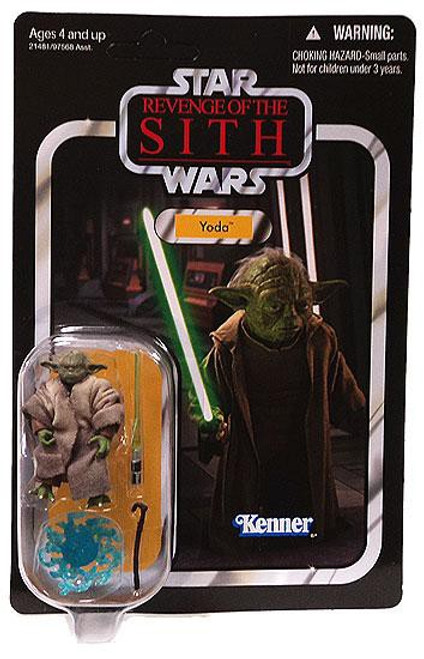 Star Wars Revenge of the Sith 2011 Vintage Collection Yoda Action Figure #20