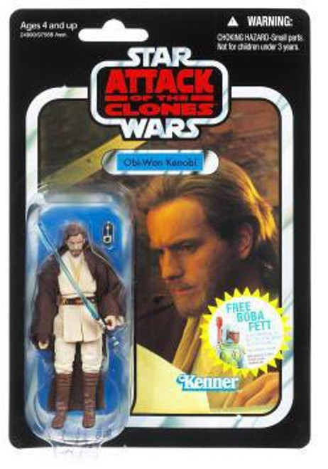 Star Wars Attack of the Clones 2011 Vintage Collection Obi Wan Kenobi Action Figure #31