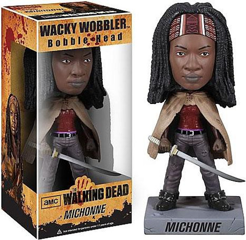 Funko The Walking Dead Wacky Wobbler Michonne Bobble Head