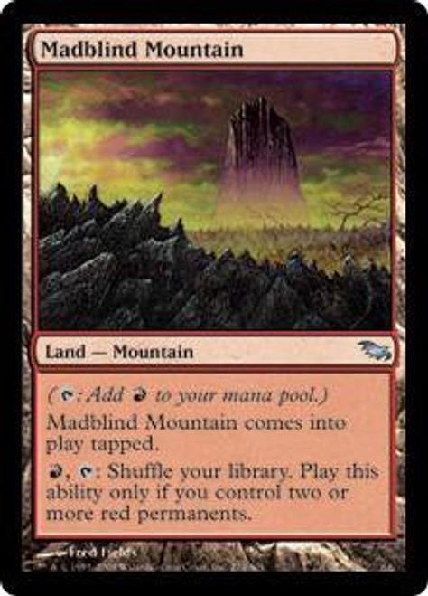 MtG Shadowmoor Uncommon Madblind Mountain #274