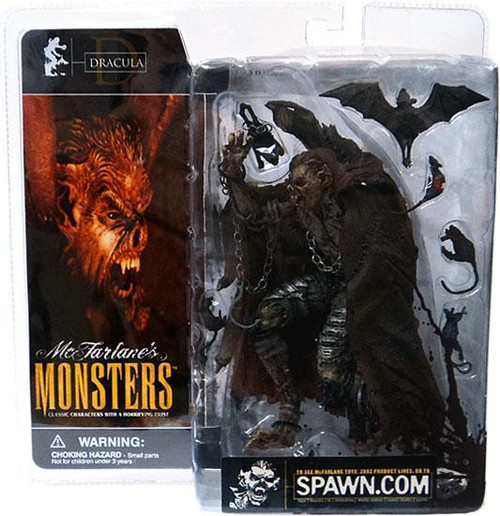 McFarlane Toys McFarlane's Monsters Dracula Action Figure [Blood Splattered Package Variant]