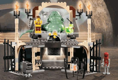 LEGO Star Wars Return of the Jedi Jabba's Palace Set #4480 [Loose, No Minifigures]