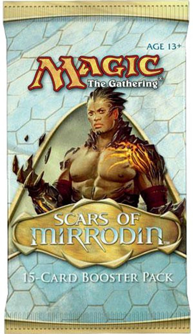 MtG Trading Card Game Scars of Mirrodin Booster Pack [15 Cards]