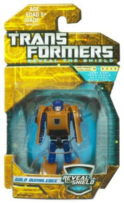 Transformers Reveal the Shield Hunt for the Decepticons Gold Bumblebee Legend Legend Mini Figure