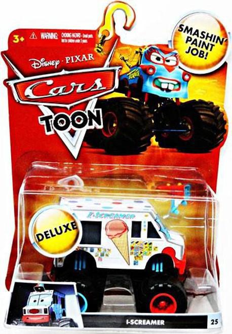 Disney / Pixar Cars Cars Toon Deluxe Oversized I-Screamer Diecast Car [Toon Edition]
