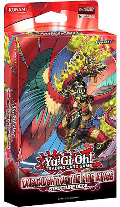 YuGiOh Trading Card Game Onslaught of the Fire Kings (1st Edition) Structure Deck
