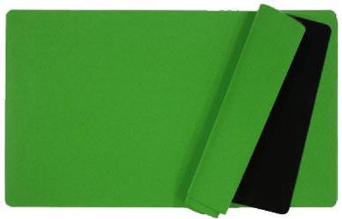 Card Supplies Green 12-Inch x 24-Inch Play Mat