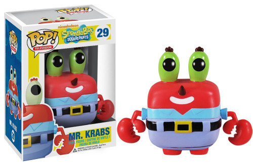Funko Spongebob Squarepants POP! TV Mr. Krabs Vinyl Figure #29