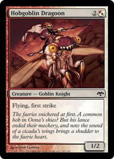 MtG Eventide Common Hobgoblin Dragoon #142
