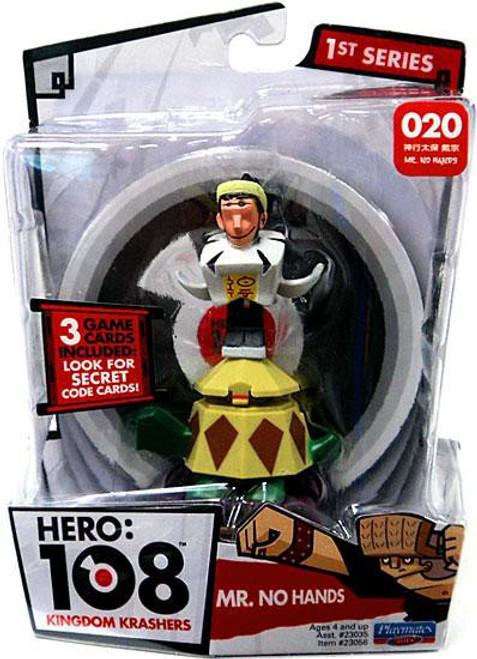 Hero: 108 Kingdom Krashers Mr. No Hands Action Figure #020