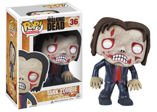 Funko The Walking Dead POP! TV Tank Zombie Vinyl Figure #36