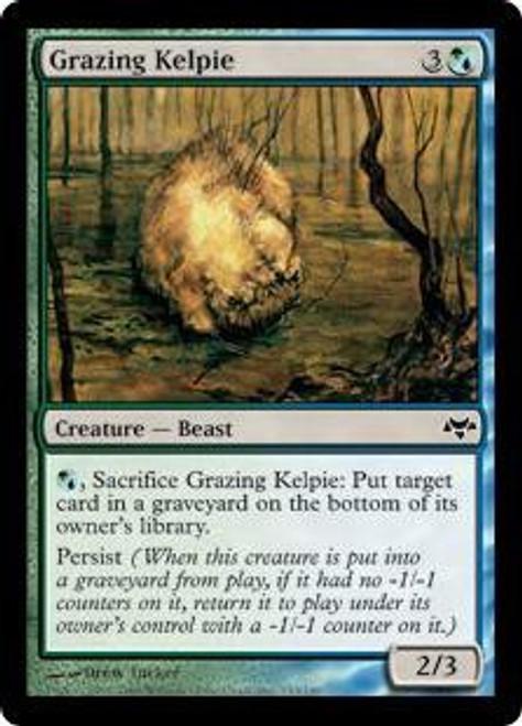 MtG Eventide Common Grazing Kelpie #153