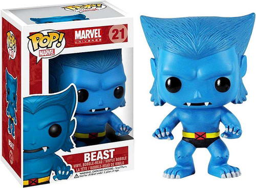 Funko Marvel Universe POP! Marvel Beast Vinyl Bobble Head #21