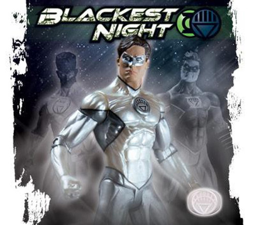 DC Green Lantern Blackest Night Hal Jordan White Lantern Exclusive Action Figure