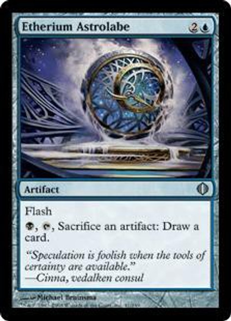MtG Shards of Alara Uncommon Etherium Astrolabe #41