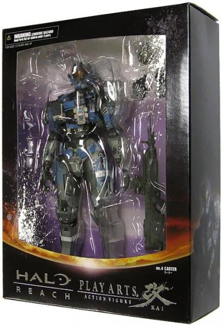 Halo Reach Play Arts Kai Series 2 Carter Action Figure [Commander]
