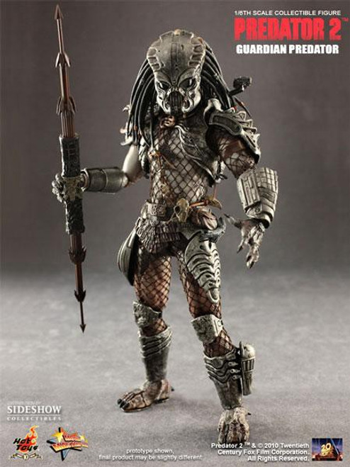 Predator 2 Movie Masterpiece Guardian Predator Exclusive Collectible Figure