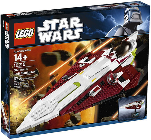 LEGO Star Wars The Clone Wars Obi-Wan's Jedi Starfighter Exclusive Set #10215
