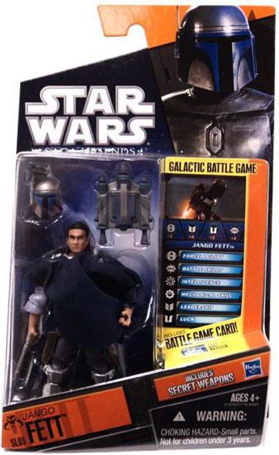 Star Wars Attack of the Clones 2010 Saga Legends Jango Fett Action Figure SL05