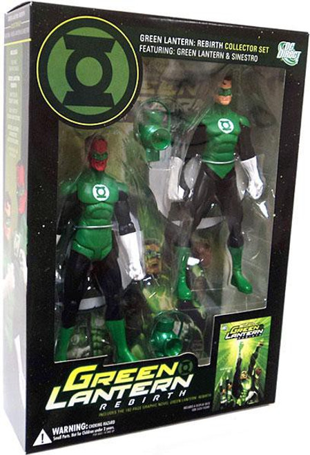DC Green Lantern Rebirth Collector Set Action Figure 2-Pack