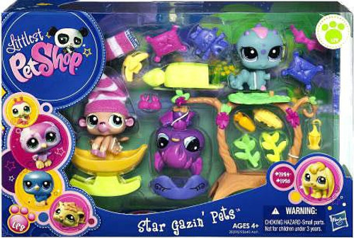 Littlest Pet Shop Star Gazin' Pets Playset