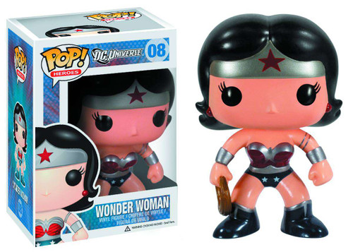Funko DC Universe POP! Heroes Wonder Woman Exclusive Vinyl Figure #08 [New 52 Version]
