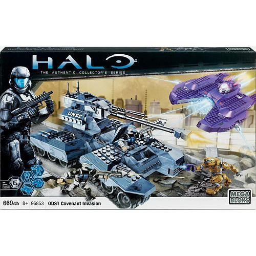 Mega Bloks Halo Covenant Invasion Exclusive Set #96853