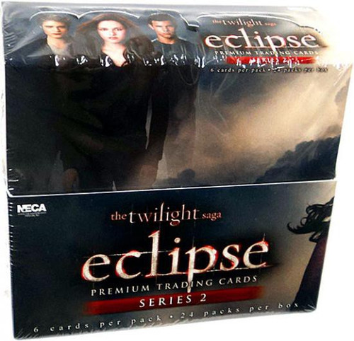 NECA Twilight New Moon Eclipse Series 2 Trading Card Box [24 Packs]