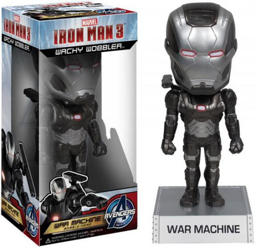 Funko Iron Man 3 Wacky Wobbler War Machine Bobble Head